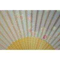 扇子ぼかし桜青シルク100%【京都】母の日父の日誕生日ギフト結婚祝い