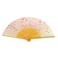 扇子吉野桜シルク100%【京都】母の日父の日誕生日ギフト結婚祝い