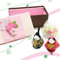 雛人形と金平糖のセット☆【ひな祭り特集2011】福雛菓子【楽ギフ_包装選択】10P26Jan11