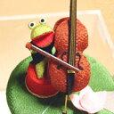 【和雑貨 和風小物 カエルグッズ かえるグッズ 蛙 置物 インテリア】カエルのシンフォニーが奏...