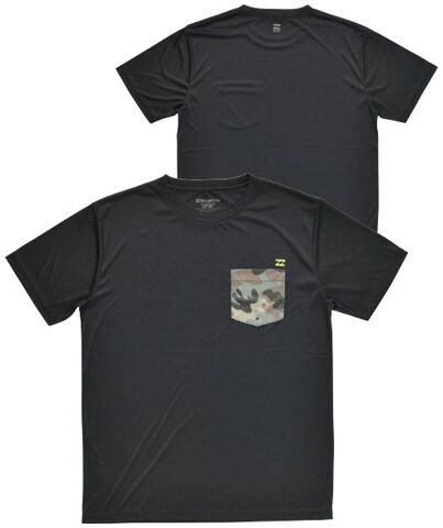 ビラボン billabong BILLABONG メンズ ラッシュガード ポケットTシャツ AJ011858 BKC マリンSP ミズギ