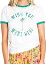 ビラボン billabong BILLABONG レディース デザインTシャツ AJ013302 CWP カジュアル Tシャツ