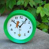 「Yamabatosha2wayclockCATGR」山鳩社クロックキャット時計置き時計壁掛け時計ウォールクロック