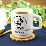 ヴィンテージマグミッキー1個【日本製/陶磁器/Disney/300ml/コーヒー/紅茶/お茶/ティー/ティータイム/アメリカン/雑貨】