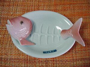 [レビューを書いて3%OFF]おもしろキッチン雑貨シリーズ-THE 鯛のおさしみ皿-お刺身だけのお...