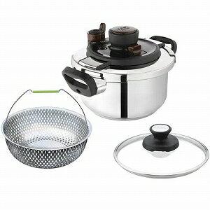 T-fal 電磁調理器対応 圧力鍋 両手鍋ティファール IH対応 圧力鍋 クリプソメイユール 3L...