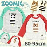 【2018春新作】子供服<長袖>ZMアイスキャンディーAPTシャツ(80-120cm)【ZOOMIC】