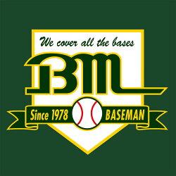 「野球用品専門店のベースマン」ユニフォーム、スバイク、バット、野球グローブなど充実した品揃え!