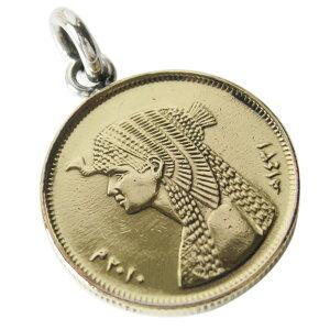 本物のエジプトのコインペンダント(1) メイン アフリカ コイン 硬貨 ペンダント ネックレス アクセサリー メンズ レディース 送料無料 おしゃれ