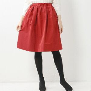 【SALE】グログラン生地が大人な表情に仕上げてくれるスカート【美人百花1月号】JOC PE メモリ...