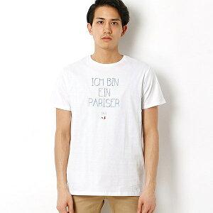 【SALE】フランス製のプリントTシャツCIVISSUM: オーガニックコットン プリント Tシャツ/シッ...