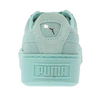 【PUMA/プーマ】363313バスケットプラットフォームリセット/グリーンパークス(GreenParks)