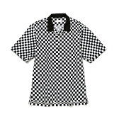 チェッカーフラッグオープンカラーシャツ/ジュンレッド(JUNRed)