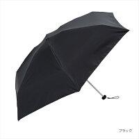 日傘 晴雨兼用 PUコンパクト プレーンカラーmini/ビコーズ(because)