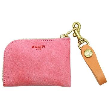 アルジャン/シビラ(ピンク)【コインケース カードケース】/アジリティーアッファ(AGILITY Affa)