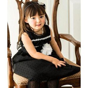 ブラックギャザードレス ワンピース/キャサリンコテージ(Catherine Cottage)