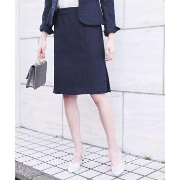 【セットアップ対応】ネップツイードタイトスカート/オフオン(OFUON)