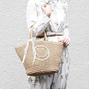 【2019SS】スマイルペーパーかごバッグ/マシェールコゼット?(ma chere Cosette?)