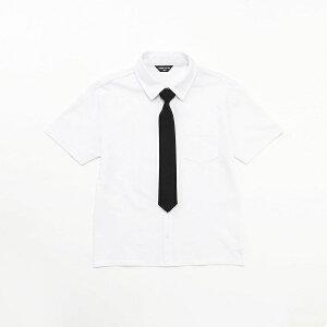 f4f47978c4bba ネクタイ付き 半袖シャツ (140cm~160cm)/コムサイズムキッズ(COMME CA ISM) ネクタイが取り外しできるので、フォーマルからカジュアルまで、幅広く  ...