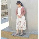 花柄ノースリーブワンピース/179/WG(179 WG)