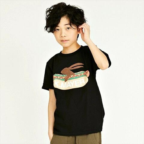 ブランドロゴT(HOT−DOG)【120cm〜160cm】/クリフメイヤーキッズ(KRIFF MAYER KIDS)