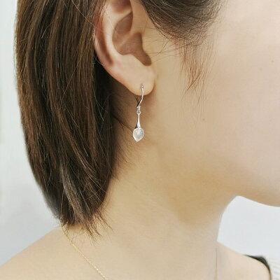 ヴァンドーム青山 VA 普段使い 40代 アクセサリー ピアス 水晶 プレゼント