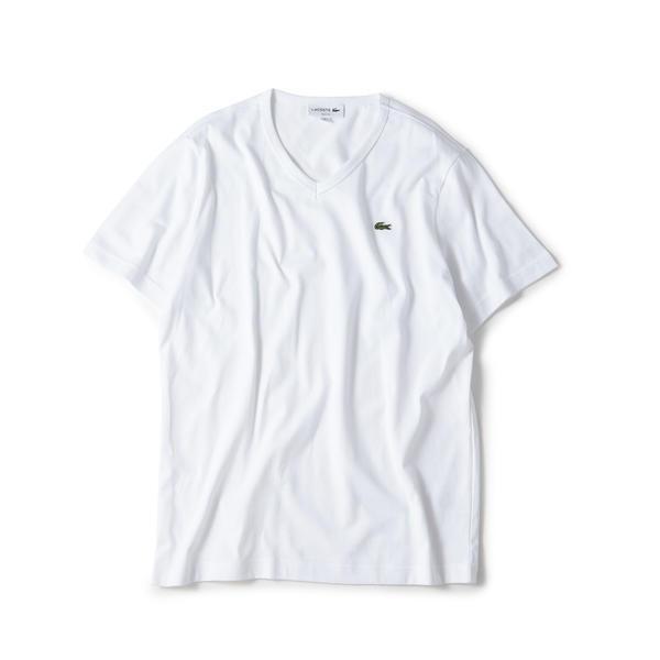 ラコステベーシックVネックTシャツ