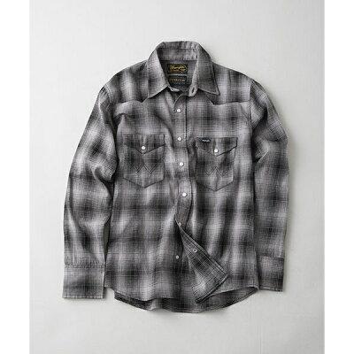チェック柄のペンドルトンのウエスタンシャツ