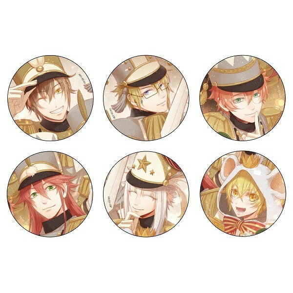 【Code:Realize 〜創世の姫君〜】缶バッジ -くるみ割り人形ver.- (ランダム全6種)/オトメイト関連グッズ(Otomate goods)画像