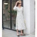花柄前開きボタンワンピース/ミューズ リファインド クローズ(MEW'S REFINED CLOTHES)