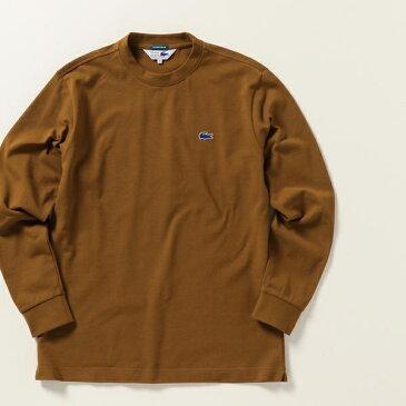 LACOSTE:カノコ 袖リブ ロングスリーブ Tシャツ ロンT/シップス エニィ(メンズ)(SHIPS any)