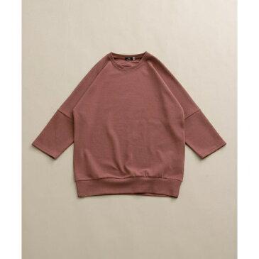メンズTシャツ(7分袖ジャカードビッグTシャツ)/アイテムズ アーバンリサーチ(メンズ)(ITEMS URBAN RESEARCH)