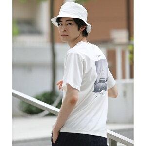 【HIS】【UVカット・抗菌防臭】バックプリントTシャツ/ザ ショップ ティーケー(メンズ)(THE SHOP TK Mens)