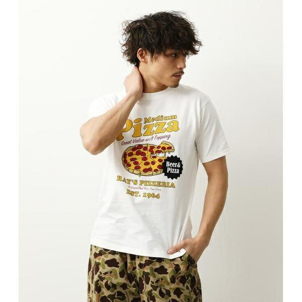 トップス, Tシャツ・カットソー Rays Pizza T