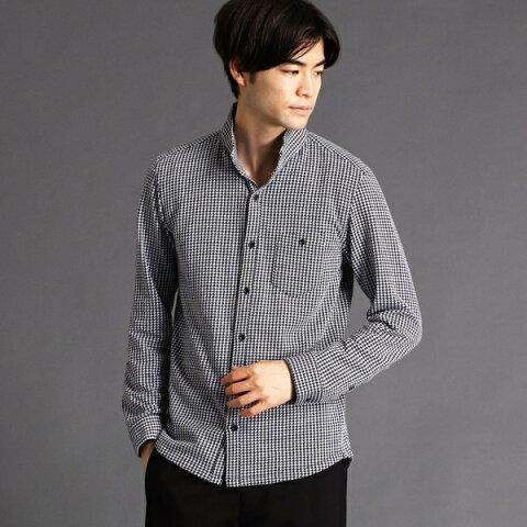 鹿の子ストライプカットシャツ/ニコルクラブフォーメン(NICOLE CLUB FOR MEN)
