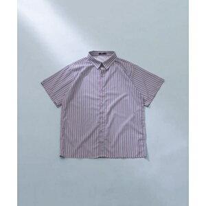 メンズシャツ(ストライププリント半袖シャツ)/アイテムズ アーバンリサーチ(メンズ)(ITEMS URBAN RESEARCH)