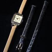 革ベルト2本セットジュエリーウォッチ【A.CNO.2SET時計】/アガットクラシック(ageteCLASSIC)