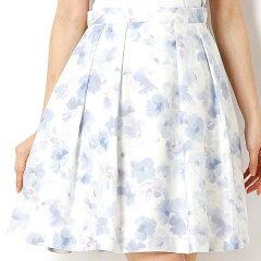 【NEW】優しい印象のふんわりスカート。Lスカート/デビュー・ド・フィオレ/デビュー・ド・フ...