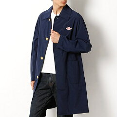 Danton Nylon Taffeta Coat JD-8643NTF: Navy