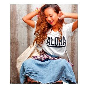 ALOHA ロゴTEE/アナップ(ANAP)