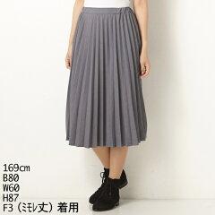 すきな丈プリーツスカートスカート(すきな丈プリーツスカート)/アースミュージック&エコロ...