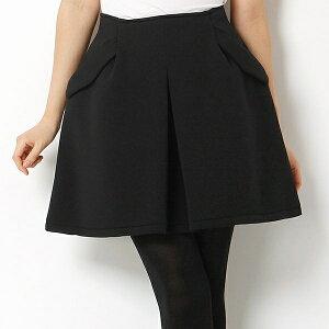 【SALE】タックデザインワイドミニSKスカート(タックデザインワイドミニSK)/ムルーア(MURUA)