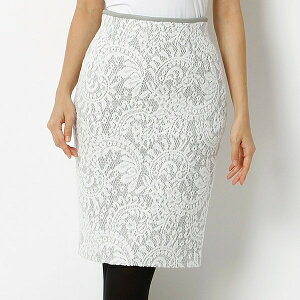 【SALE】起毛レースボンディングスカート『and GIRL11月号掲載商品』起毛レースボンディングス...