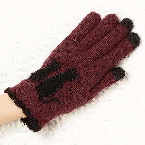ニット手袋(スマホ対応)/モミーコレクション(MOMY COLLECTION)