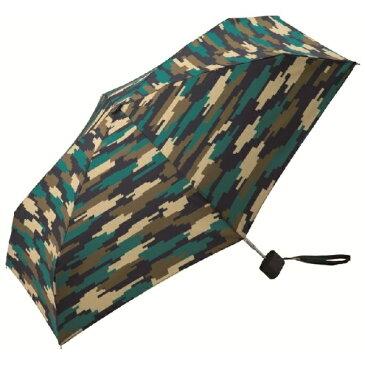 【驚きの小ささ!】折りたたみ傘Tiny(ピクセルカモフラージュ)/kiu