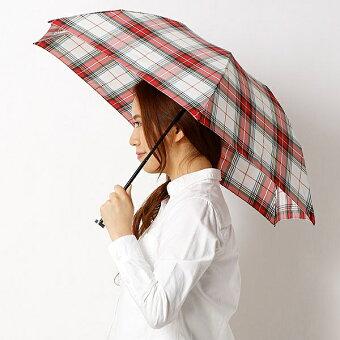 【軽量約100g!・チェック柄】ユニセックス折りたたみ傘(バーブレラBarbrella(R))/マッキントッシュフィロソフィー(MACKINTOSHPHILOSOPHY)
