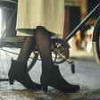 【マルイのラクチンブーツ★送料無料】【19.5〜27cm】[ラクチンきれいブーツ]サイドゴアショートブーツ(4.5cmヒール)/ヴェリココ(velikoko)