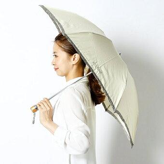 【UV遮蔽率99%以上・遮熱効果】晴雨兼用パイピング折畳み日傘(リバティ生地使用/レディース)/マッキントッシュフィロソフィー(MACKINTOSHPHILOSOPHY)