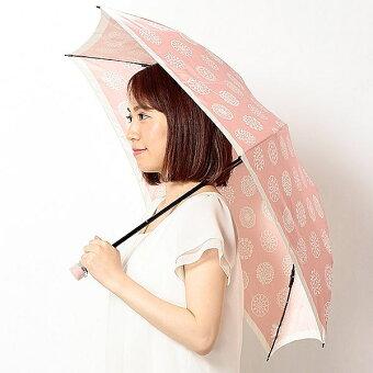 雨傘(折りたたみ/ミニ)花柄(レディース)/ミラ・ショーン(雑貨)(milaschon)【0509P5】