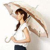 【JJ 7月号掲載】【雨傘(ジャンプ式)】長傘(フラワープリント/耐風骨使用)/レディース/ピンキー&ダイアン(雑貨)(Pinky&Dianne)